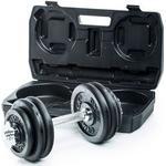 Hantlar Gymstick Adjustable Dumbbell Set 2x15kg