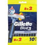Gillette Blue3 Disposable Razor 10-pack