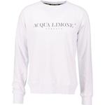 Herrkläder Acqua Limone College Classic Sweatshirt Unisex - White