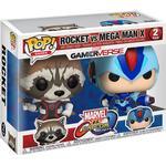Guardians of the Galaxy Leksaker Funko Pop! Games Rocket vs Mega Man X Marvel vs Capcom