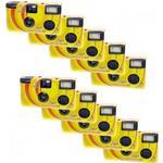 Engångskamera Novocolor Disposable Cameras with Flash 10 Pcs