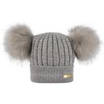 Accessoarer Barnkläder Bjällra of Sweden Knitted Winter Hat - Grey (8069878)