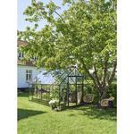 Fristående växthus - Härdat glas Halls Qube 812 9.9m² 3mm Aluminium Härdat glas