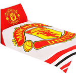 Soft Furnishings Manchester United Påslakan Röd, Vit (200x135cm)