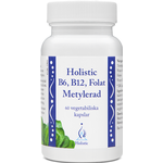 Holistic B6, B12, Folate Methylated 60 st