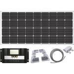 Solpaneler Sunwind Solar Panel Caravan & Motorhome Corner 160W
