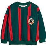 Sweatshirts Barnkläder Mini Rodini Stripe Sweatshirt - Green (2022015675)