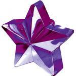 Ballongtyngder Amscan Ballon Weight Star Purple