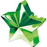 Ballongtyngder Amscan Ballon Weight Star Green