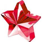Ballongtyngder Amscan Ballon Weight Star Red