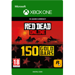 Rockstar Games Red Dead Redemption 2 - 150 Gold Bars - Xbox One