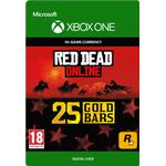 Rockstar Games Red Dead Redemption 2 - 25 Gold Bars - Xbox One