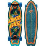 Skateboard Santa Cruz Vacation Dot Cruzer Shark 8.8""