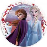 Tallrikar - Frost Folat Plates Frozen 2 8-pack