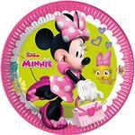 Festprodukter Folat Plates Minnie Mouse 8-pack