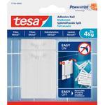 TESA Självhäftande spik kakel 4kg 2-pack Tavelkrok