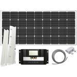 Solpaneler Sunwind Solar Panel MultiFlex Spoiler + 20A PWM 160W