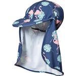 Geggamoja UV Hat Flamingo - Blue (100120121)