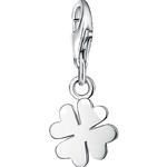 Thomas Sabo Charm Club Cloverleaf Charm Pendant - Silver