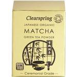 Clearspring Organic Japanese Matcha Green Tea Powder 30g