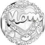 Smycken Thomas Sabo Mom Bead Charm - Silver/Agate