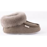 Barnskor Shepherd Osby sheepskin slippers - Stone
