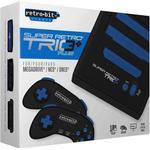 SNES Spelkonsoler Retro-Bit Super Retro Trio Plus - Black/Blue