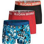 Boxershorts Barnkläder Björn Borg Fleur De Jardin Sammy Kalsonger 3-pack - Blue Danube (1941-1127-72341)