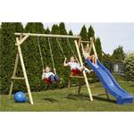 Nordic Play Swing Stand with Slide