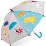 Barnparaplyer Micki Babblarna Umbrella Muticolor (46892614)