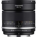 Samyang MF 85mm F1.4 MK2 for Micro Four Thirds