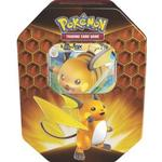 Pokémon Hidden Fates Raichu GX Tin Box