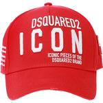 Kepsar Herrkläder DSquared2 Embroidered Baseball Cap - Red