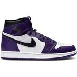 36 Barnskor Nike Air Jordan 1 Retro High OG GS - Court Purple/Black/White