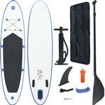 Sim- & Vattensport vidaXL Inflatable SUP Surfboard Set 300cm