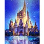 DIY Magic Castle Diamond Painting 30x40cm Poster