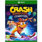 7+ Xbox One-spel Crash Bandicoot 4: It's About Time