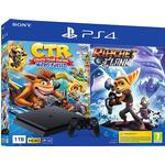 Sony PlayStation 4 Slim 1TB - Crash Team Racing + Ratchet & Clank