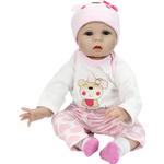 22'' Soft Silicone Doll Reborn Baby