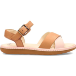 Barnskor Clarks Kid's Skylark Pure - Tan Combi Leather