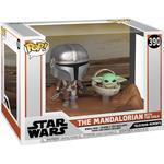 Funko Pop! Star Wars the Mandalorian & the Child Baby Yoda