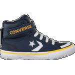 Barnskor Converse Pro Blaze Strap Hi - Obsidian/Amarillo/White
