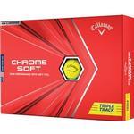 Golfbollar Callaway Chrome Soft Tripple Track (12pack)