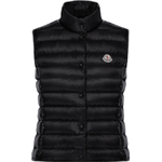 Vadderade västar Damkläder Moncler Liane Padded Women Vest - Black