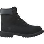 Barnskor Timberland Junior Premium 6 Inch Boots - Black Nubuck
