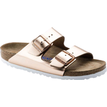 Birkenstock Arizona Soft Footbed Natural Leather - Metallic Copper