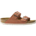 Birkenstock Arizona Soft Footbed Suede Leather - Earth Red