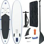 vidaXL Inflatable SUP Surfboard Set 390cm