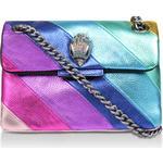 Läder - Axelremsväskor på rea Kurt Geiger Mini Kensington Crossbody Bag - Rainbow