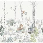 Boråstapeter Newbie Magic Forest Mural (7481)